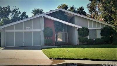 Loma Linda Single Family Home For Sale: 11580 Welebir Street
