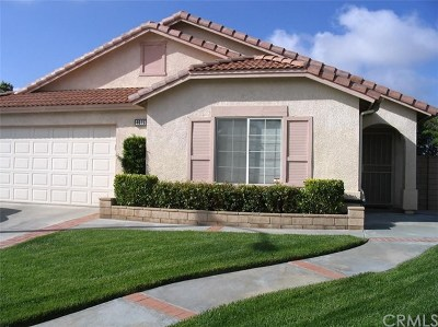 Cherry Valley Single Family Home Active Under Contract: 40763 Caballero Drive