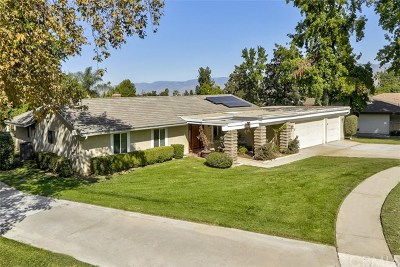 Redlands Single Family Home Active Under Contract: 1538 Lynne Court