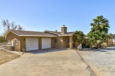 Cherry Valley Single Family Home For Sale: 10995 Bellflower Avenue