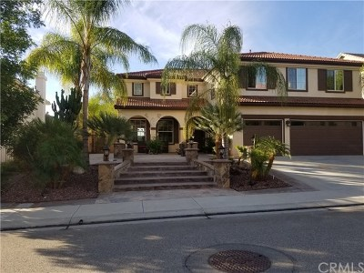 Murrieta CA Single Family Home For Sale: $629,000