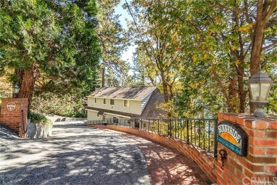 Lake Arrowhead Single Family Home For Sale: 28103 N North Shore Road