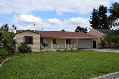 Santa Ana Single Family Home For Sale: 1817 W 15th Street