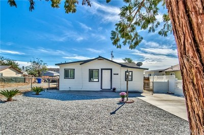 Yucaipa Single Family Home For Sale: 34931 Acacia Avenue