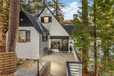 Lake Arrowhead Single Family Home For Sale: 185 Rocky Point Road