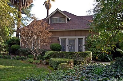 Upland Single Family Home For Sale: 1572 N Euclid Avenue