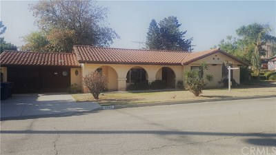Riverside Single Family Home For Sale: 3303 Maricopa Drive