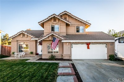Yucaipa Single Family Home For Sale: 33661 Pecan Ave