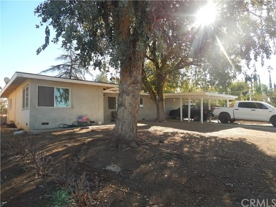 Yucaipa Single Family Home For Sale: 12767 10th Street
