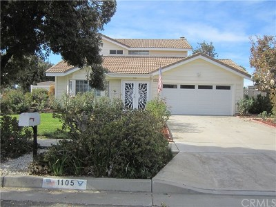 Redlands Single Family Home For Sale: 1105 Anthony Street