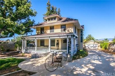 Redlands Single Family Home For Sale: 860 W Palm Avenue