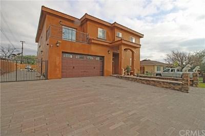 Fontana Single Family Home For Sale: 6831 Almeria Street