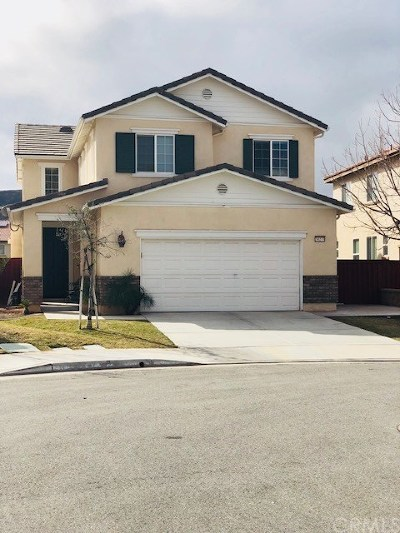 Beaumont Single Family Home For Sale: 34273 Ogrady Court