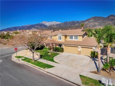 Rancho Cucamonga CA Single Family Home Active Under Contract: $829,000