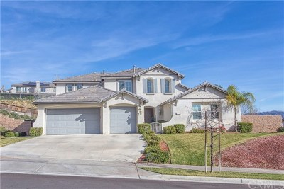 Yucaipa Single Family Home For Sale: 33733 Old Trail Drive