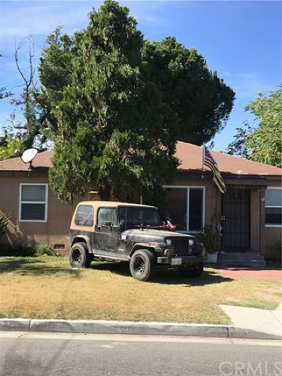 Riverside Single Family Home For Sale: 1765 Fairmount Boulevard