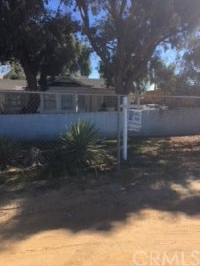 Moreno Valley Single Family Home For Sale: 12150 Theodore Street