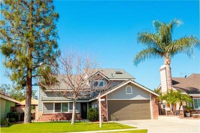 Corona CA Single Family Home For Sale: $479,000