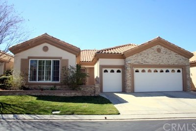 Banning Single Family Home For Sale: 1761 Masters Drive