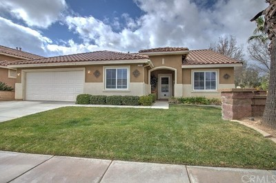 Beaumont Single Family Home Active Under Contract: 1389 Sunburst Drive
