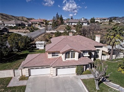 Yucaipa Single Family Home For Sale: 10148 Palermo Court