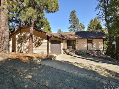 Crestline Single Family Home For Sale: 24581 San Moritz Drive