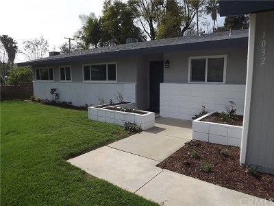 Redlands Single Family Home For Sale: 1032 W Fern Avenue