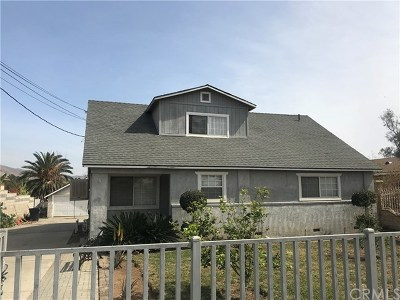Riverside Single Family Home Active Under Contract: 3918 Lindsay Street