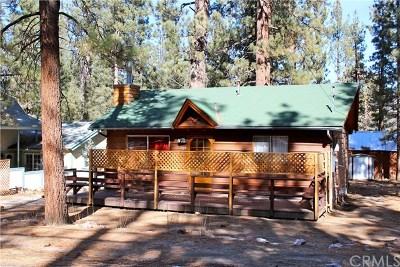 Big Bear Single Family Home For Sale: 527 W Rainbow Boulevard