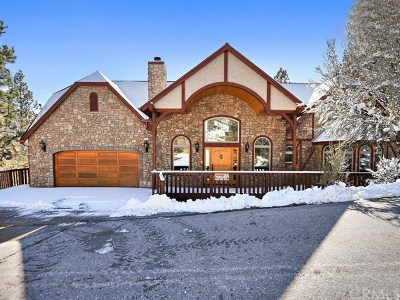 Big Bear Single Family Home For Sale: 43731 Canyon Crest