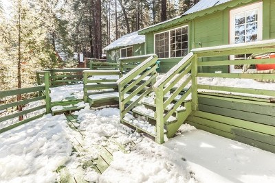 Running Springs Area Single Family Home For Sale: 31597 Wagon Wheel Drive