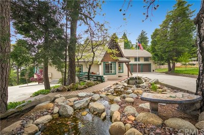 Blue Jay, Cedarpines Park, Crestline, Lake Arrowhead, Running Springs Area, Arrowbear, Big Bear, Rimforest, Cedar Glen, Wrightwood Single Family Home For Sale: 392 Hartman Circle