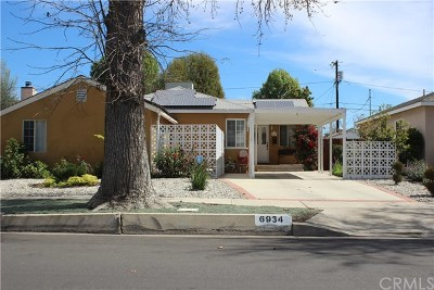 Reseda Single Family Home For Sale: 6934 Yarmouth Avenue