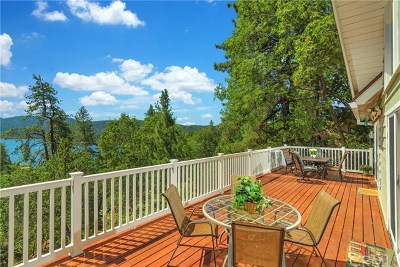 Lake Arrowhead Single Family Home For Sale: 27887 West Shore Road
