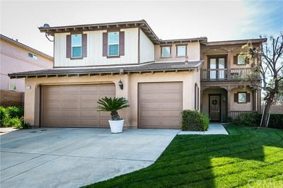 Yucaipa Single Family Home For Sale: 34147 Castle Pines Drive