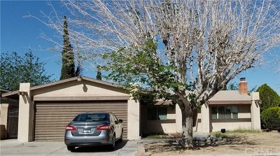 Barstow CA Single Family Home For Sale: $166,900
