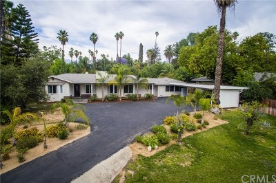 Redlands Single Family Home For Sale: 1325 Garden Street
