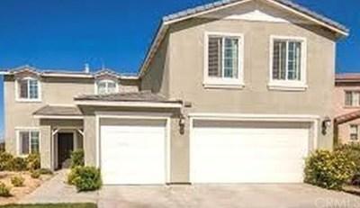 Beaumont Single Family Home For Sale: 37078 Amateur Way