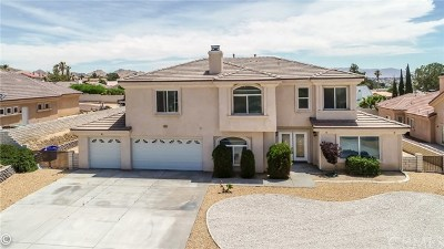 Apple Valley Single Family Home For Sale: 16245 Ridge View Drive