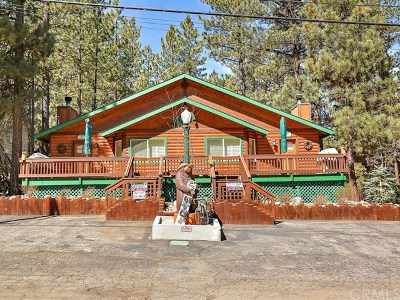Blue Jay, Cedarpines Park, Crestline, Lake Arrowhead, Running Springs Area, Twin Peaks, Big Bear, Rimforest, Cedar Glen, Arrowbear Single Family Home For Sale: 722 Summit