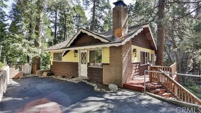 Crestline Single Family Home For Sale: 24764 Finhaut Drive