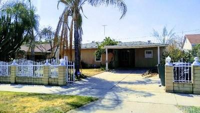 San Bernardino CA Single Family Home For Sale: $185,000