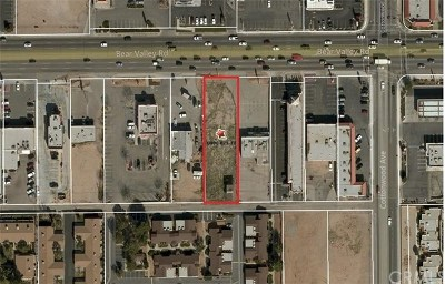 Hesperia Residential Lots & Land For Sale: 14833 Bear Valley Rd