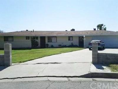 San Bernardino Single Family Home For Sale: 26409 Millar Street