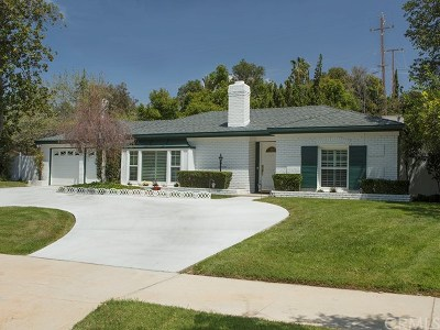Redlands Single Family Home For Sale: 1565 Garden Street