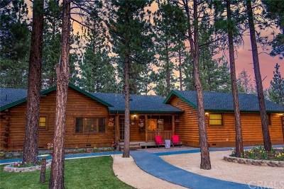 Arrowbear, Big Bear, Blue Jay, Cedar Glen, Cedarpines Park, Crestline, Lake Arrowhead, Running Springs Area, Rimforest, Twin Peaks, Wrightwood Single Family Home For Sale: 500 Bluebill Drive