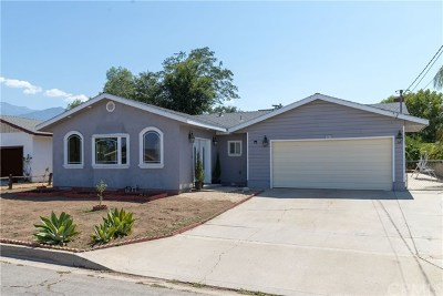 Yucaipa Single Family Home For Sale: 13617 Custer Street