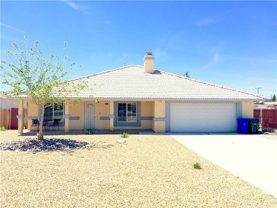 Apple Valley Single Family Home For Sale: 13458 Navajo Road