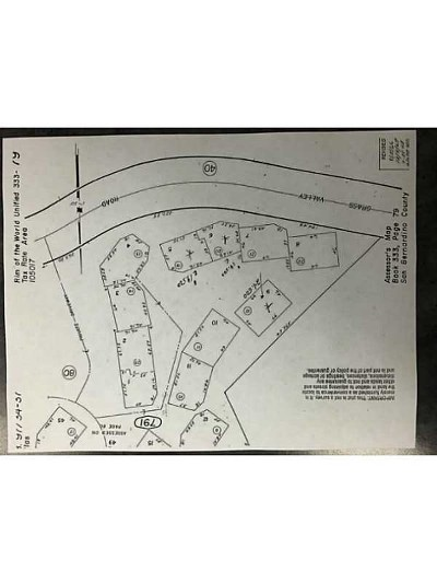 Lake Arrowhead CA Residential Lots & Land For Sale: $19,999