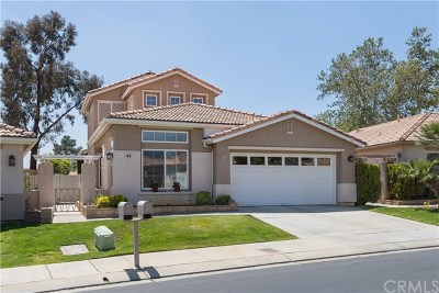 Banning Single Family Home For Sale: 821 Twin Hills Drive